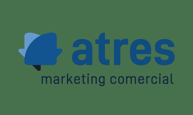 logotipo de atres marketing