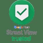 Insignia de Google Street View para tours virtuales.